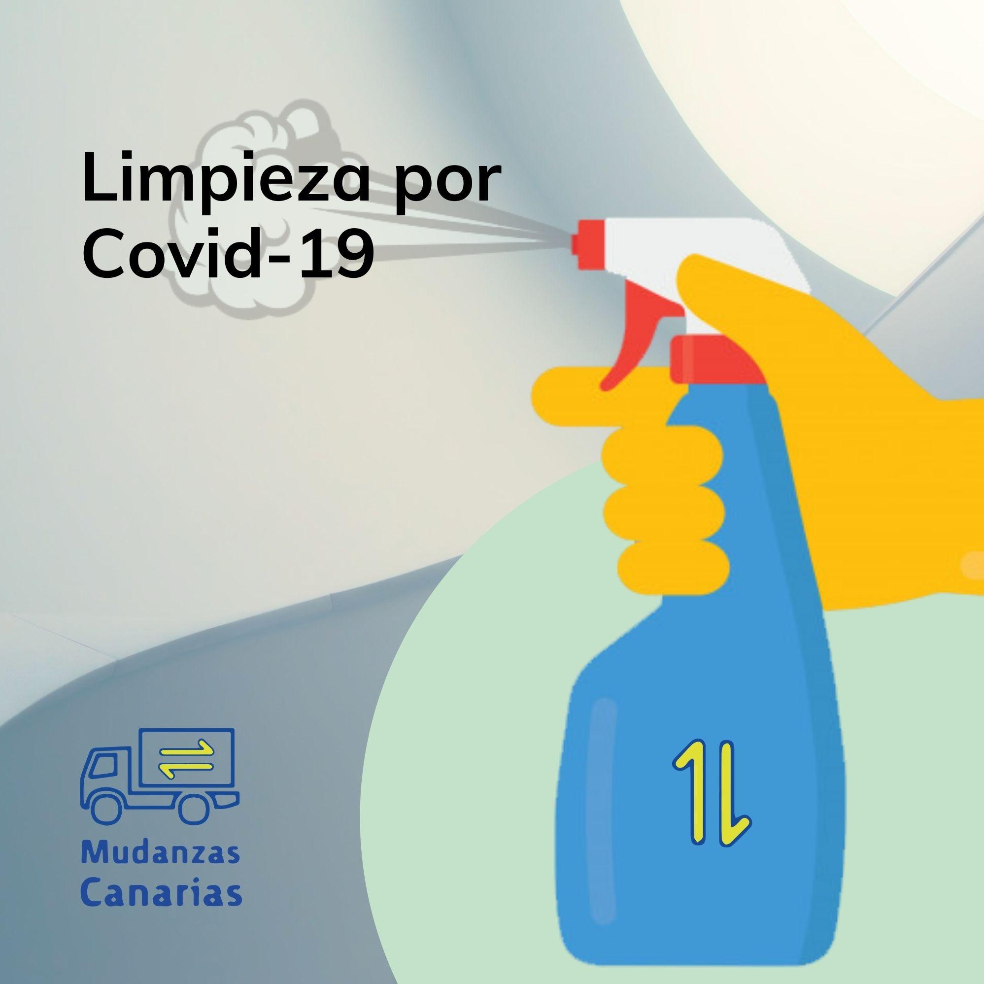 limpieza por covid 19